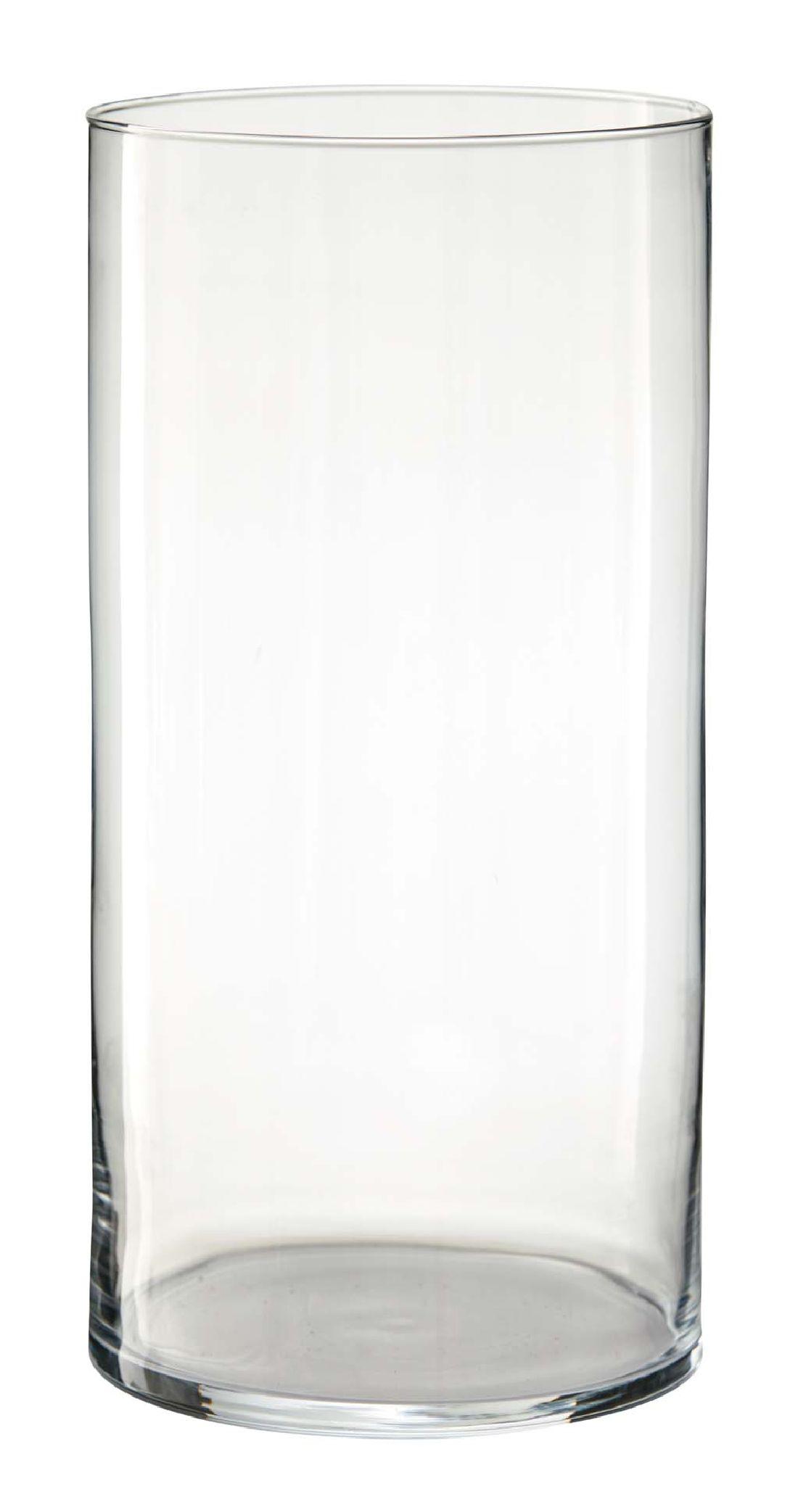 Zylinder Glas KLAR 1853/30 Ø19xh30cm