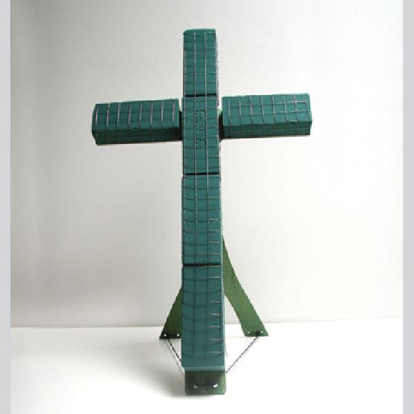 Oasis® Bioline® GRÜN incl. Aufstellhölzer Kreuz 40x24,5x5,5 cm mini