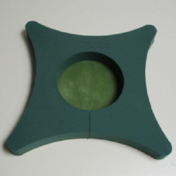 Oasis® Bioline® GRÜN Naturholzboden Urnen Kissen 45x45x5,5cm