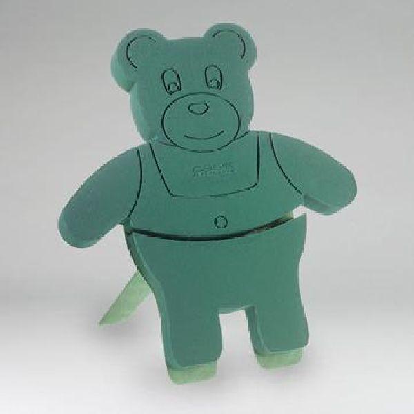Oasis® Bioline® Stckschaum grün 11-07402 Teddybär 48,5x42x5cm mini