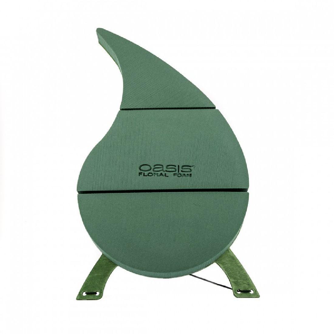Oasis® Bioline® GRÜN 11-00160 Träne 57x34x5,2 cm