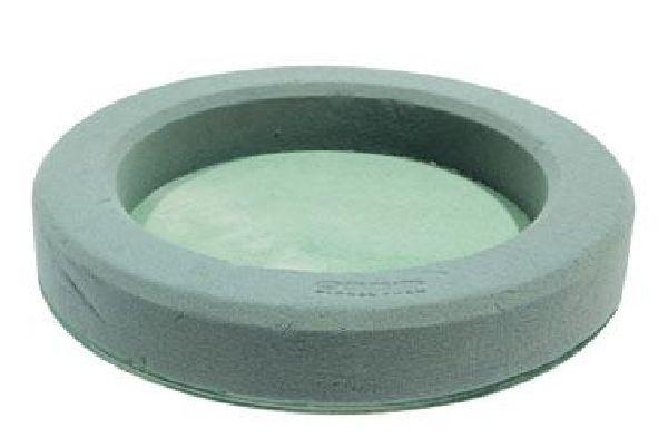 Oasis® Bioline® GRÜN durchgehender Holzboden Deco Urnenring Ø32cm  11-00034