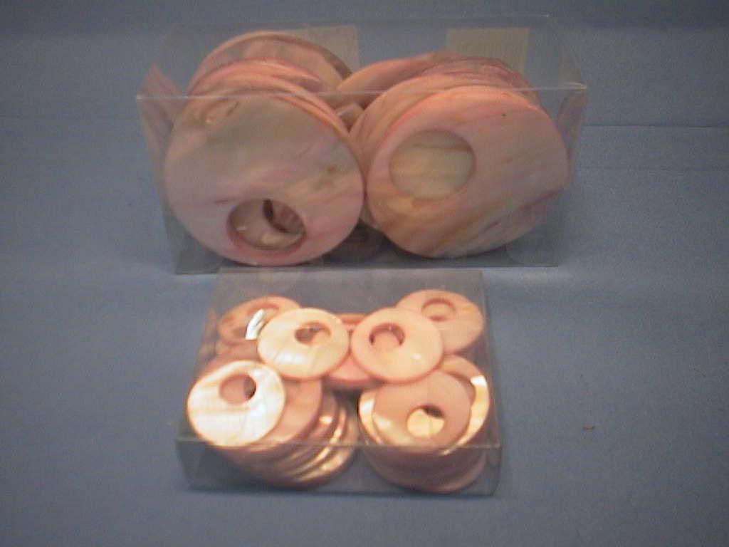 Perlmutt Streusortiment ROSA-SORT. 7cm kreis sortiment