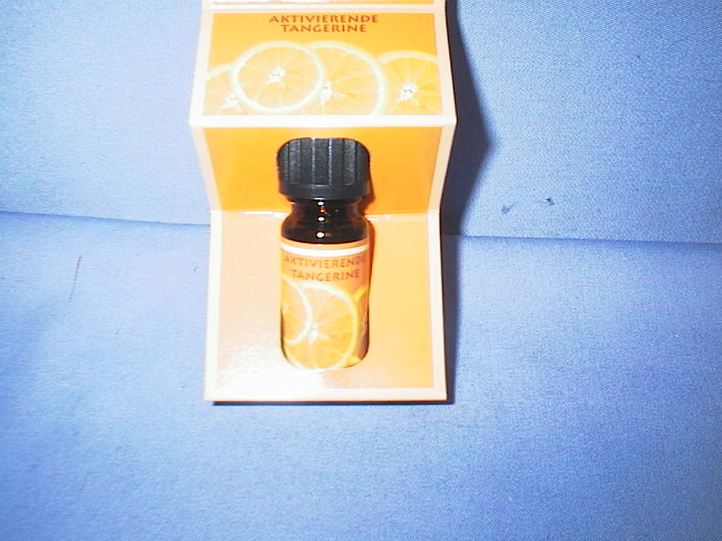 Aroma-Farbtherapie aktivierende Tangerine 10ml im Blister