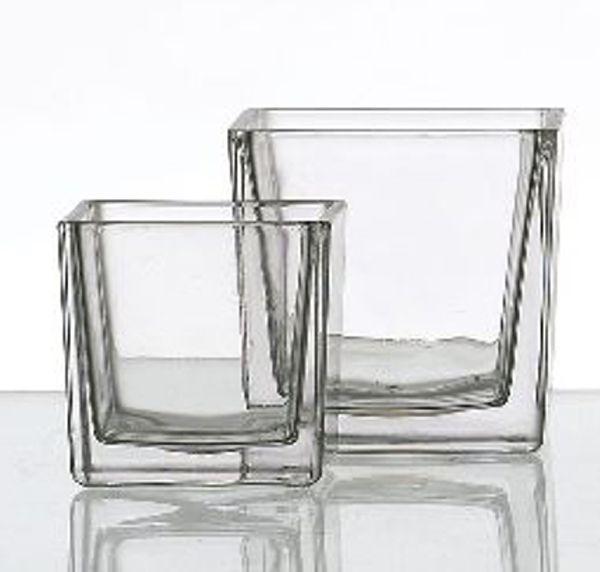 Glaswürfel KLAR 71262 512325 10cm 1942/10
