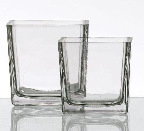 Glaswürfel KLAR 71263 512337 12cm 1942/12