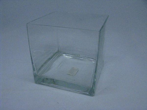 Glaswürfel KLAR-Ascanto 18cm 1581