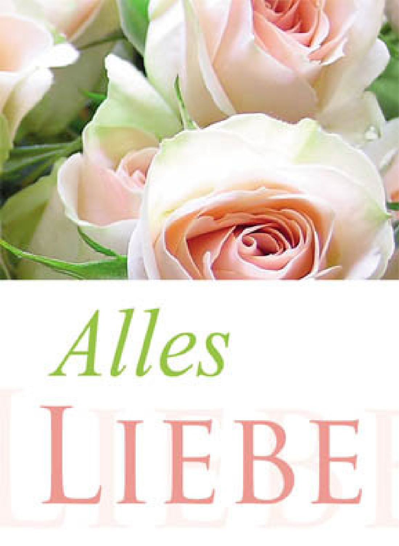 Minikarten Alles Liebe Delicato mit Holzklammer K8505