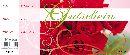 Gutschein Rote Rosen 24,5x10,5cm D-Z5358 Bon Block