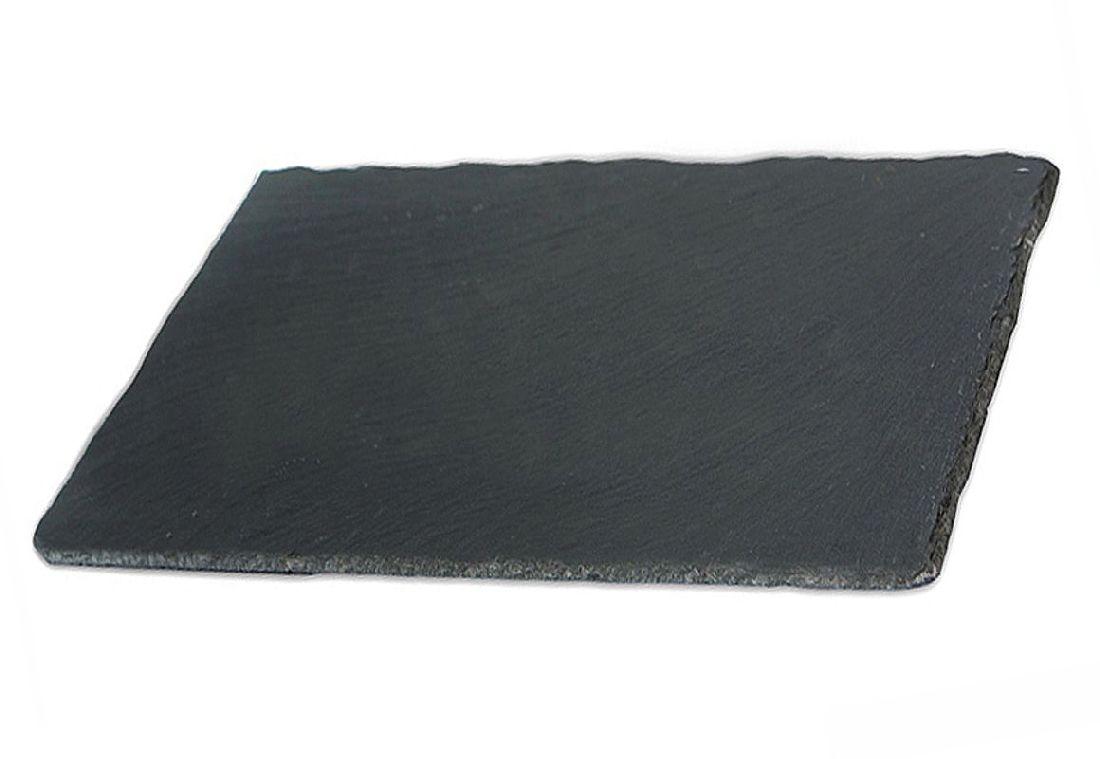 Schieferplatten ANTHRAZIT 22cm x 16cm ungelocht
