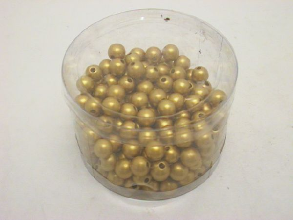 Chanellperlen GOLD 12mm 200gr