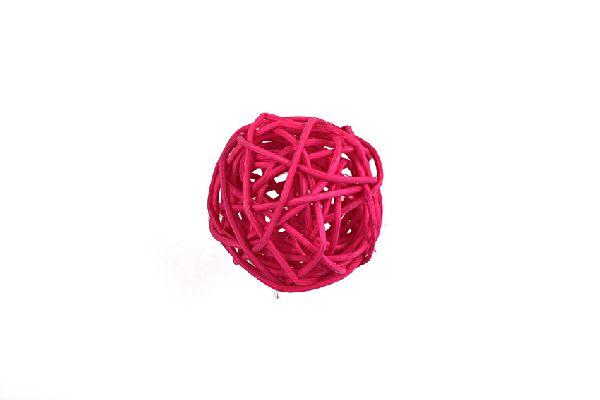 Rattanball PINK 10cm