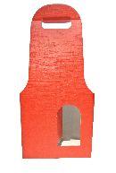 Flaschenverpackung Bag.New ROT 18x9x41 2Flaschen