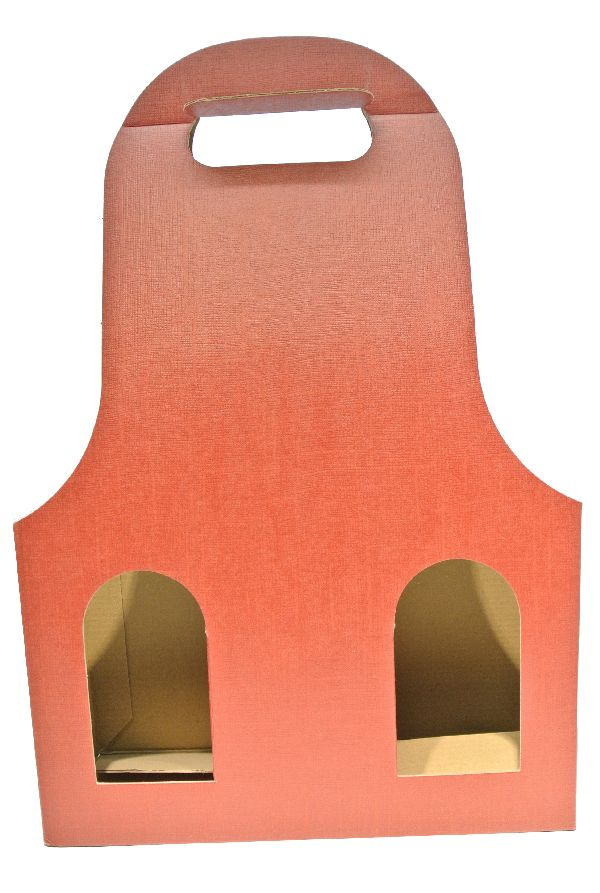 Flaschenverpackung Bag.New BORDEAUX 27x9x41 3Flaschen
