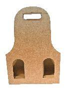 Flaschenverpackung Bag.New HELLBRAUN 27x9x41 3Flaschen
