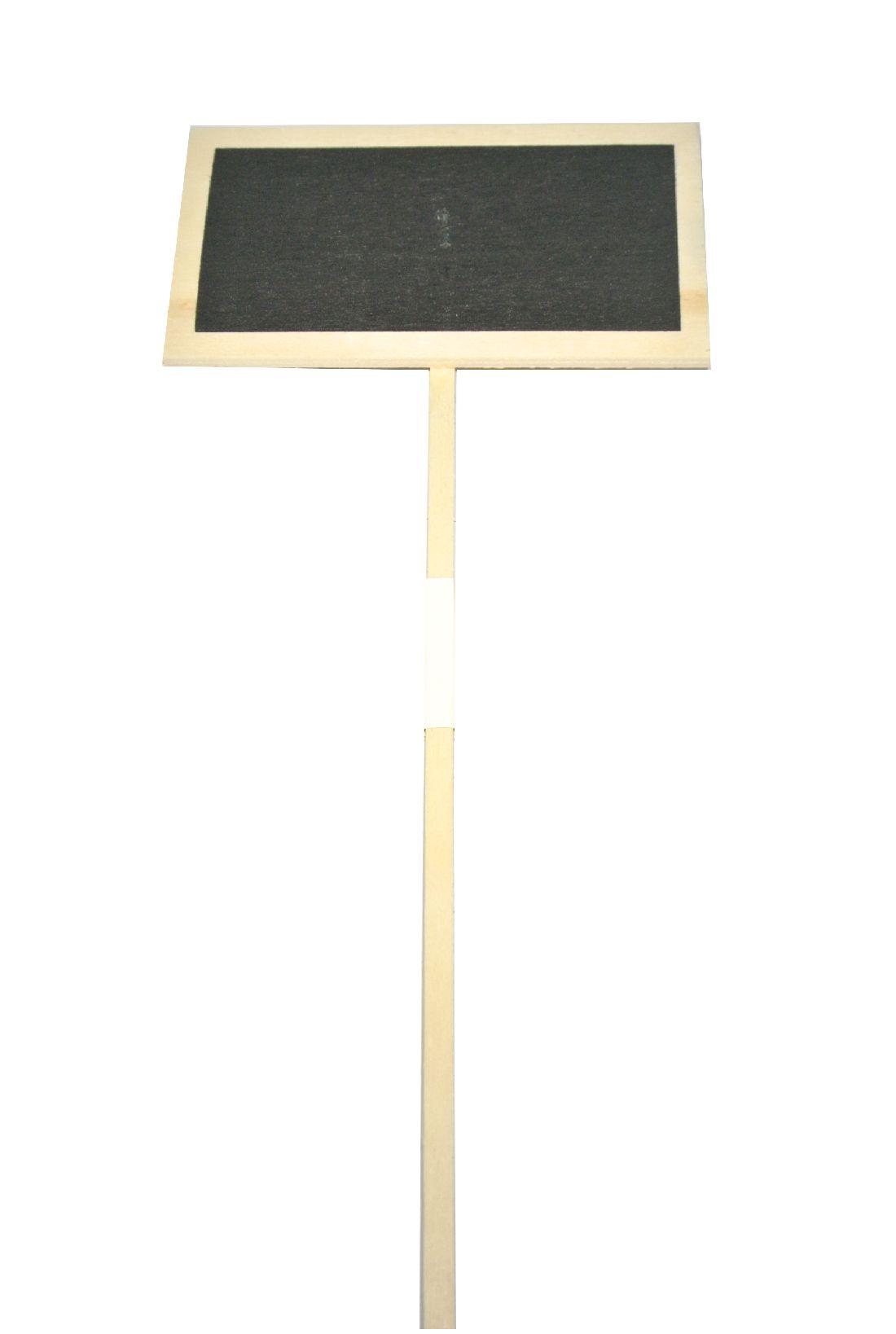 Pflanzenstecker-Holz NATUR 194680 10x6x46cm