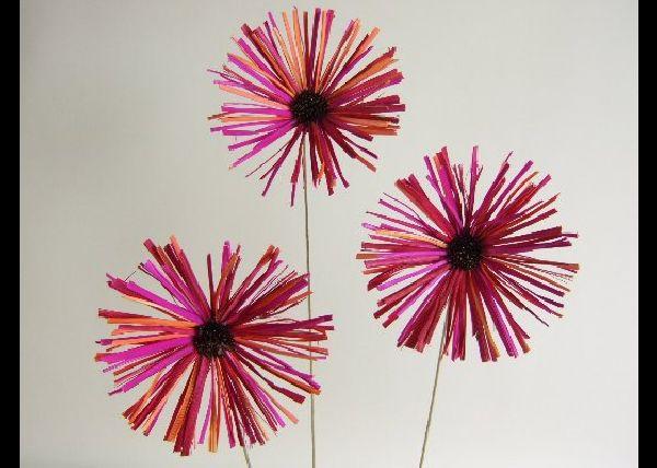 Blume Snakegras ROT D=12cm