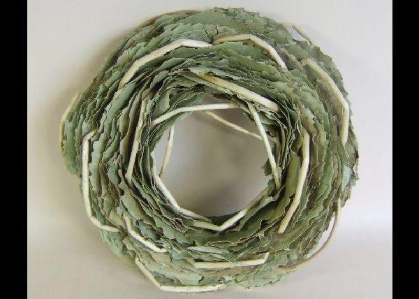 Kranz Blätter NATUR 25cm