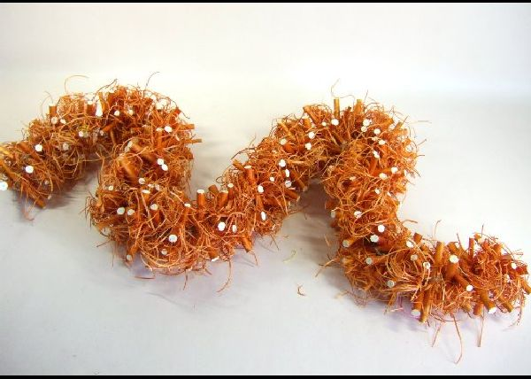 Girlande Sticks ORANGE 140x10cm