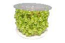 Perlenkette Svenja Perlenband APFELGRUEN 083 8mm + 3mm Länge: 15m