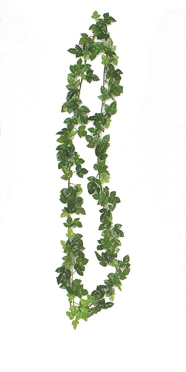 Weinlaubgirlande / Weinranke GRÜN L=165cm
