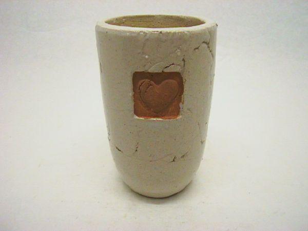 Serie Darling CREME Vase 14x23cm