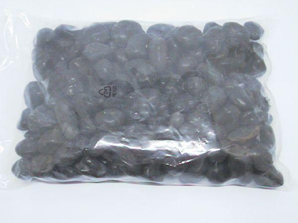 Flusskiesel gewaschen + polier SCHWARZ 5 kg 20-40mm