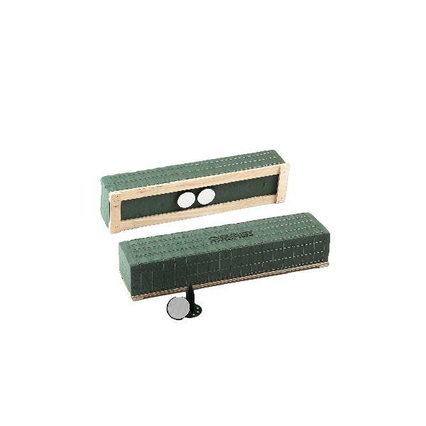 Oasis® Raquette Readyfix 11-07603 3/1 Ziegel 69,5x11,5x9 cm