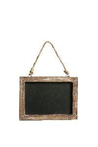 Tafel zum Hängen BRAUN 470550 rechteckig 20x1xH15/26,5cm