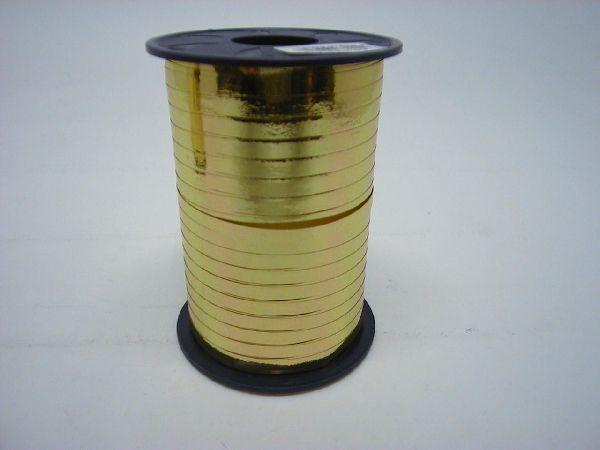 Kräuselband glänzend GOLD 5mm 400m Mexico