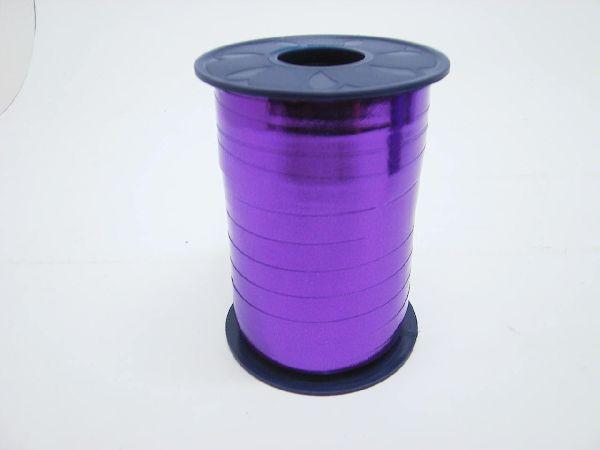 Kräuselband glänzend LILA GLAENZ. 10mm 250m Mexico