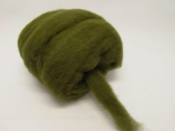 Woll - Lunte GRÜN 27 50 mm