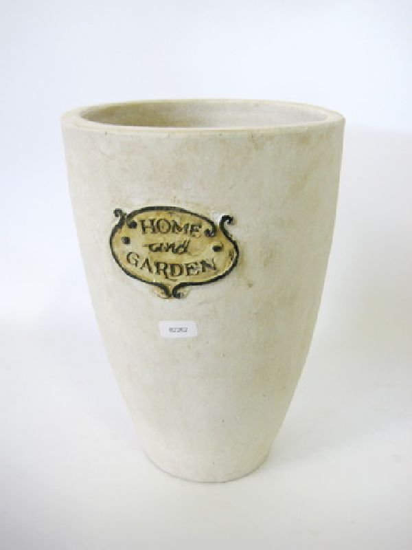 Vase Home and Garden, Keramik CREME-WEISS 82262 20x30cm