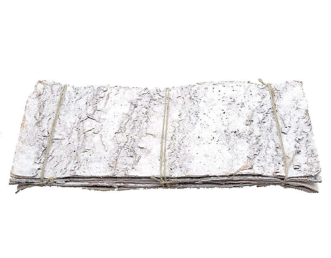 Birkenplatte STONE-WASHED/RAUREIF 19x9cm  1Bund=10Stück