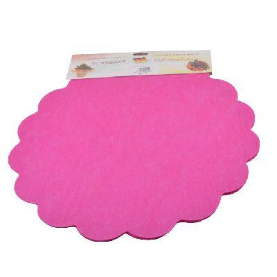 Blumella Topfmansch.Abreißbloc PINK-Fleece+Folie 54cm 25St.block