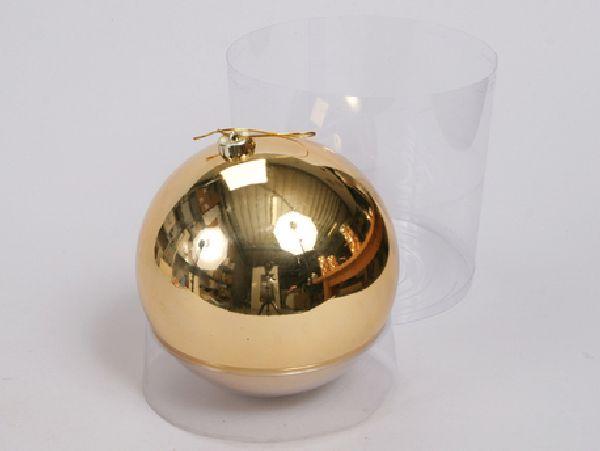 Kugel - Kunststoff - bruchfest GOLD 29828 Ø180mm, Kunststoff
