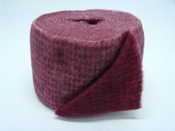 Wollvlies Heavy rosa / rubinrot 06 150 mm 5 Meter / zweifarbig