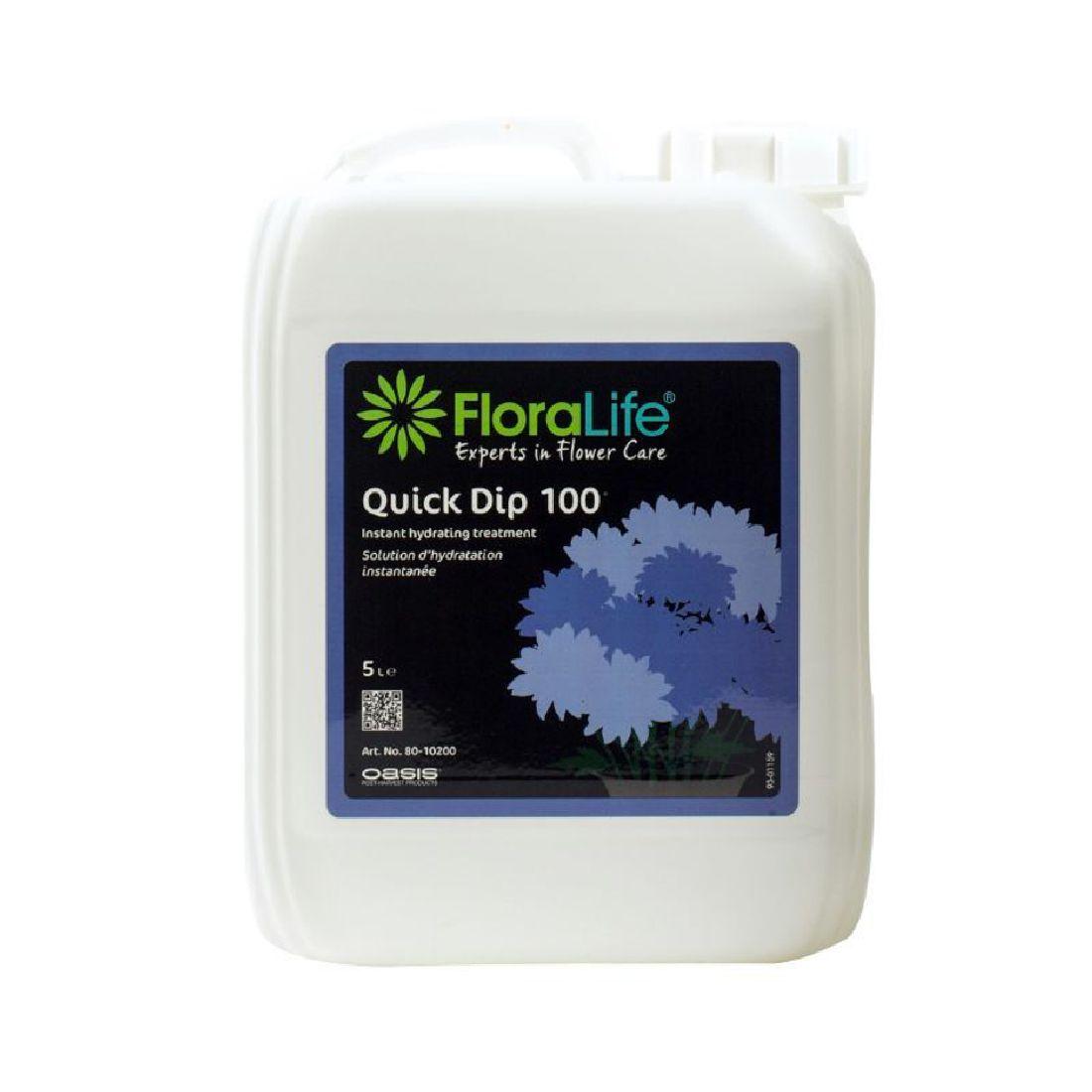 Oasis® Floralife® 80-10200 zur Vorbehandlung 5 Liter Quick Dip