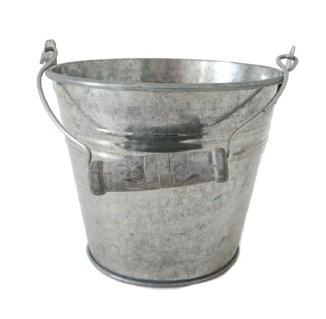 Eimer, Metall ZINK 11956 12x10x8,5cm