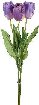 Tulpe LILA 03394 6cm 1Bund=3Tulpen L=54cm