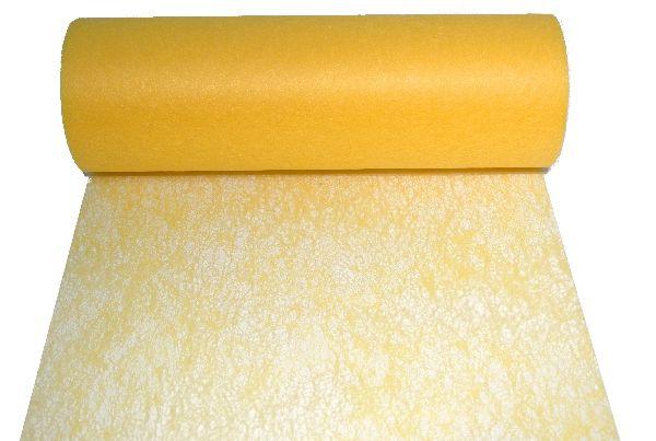 Vlies, Tischband, Dekovlies GELB 145 Breite:23cm Rolle=20m
