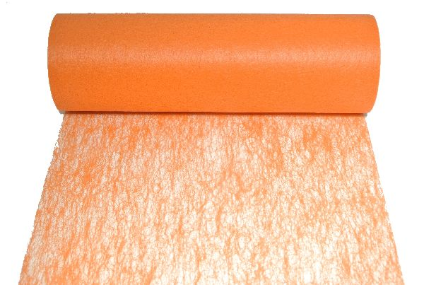 Vlies, Tischband, Dekovlies ORANGE 136 Breite:23cm Rolle=20m