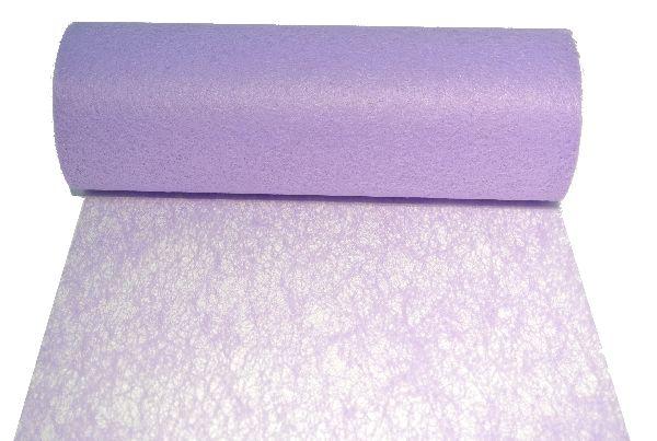Vlies, Tischband, Dekovlies FLIEDER 114 Breite:23cm Rolle=20m