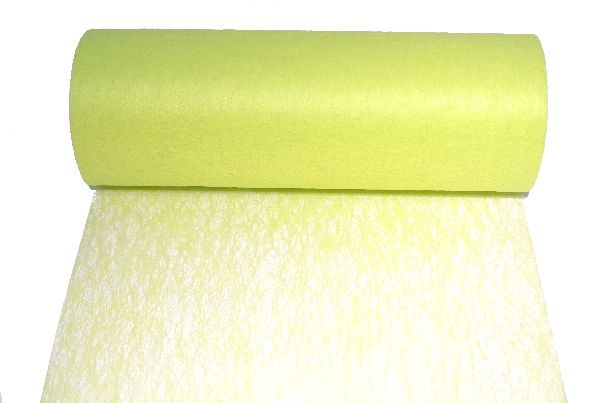 Vlies, Tischband, Dekovlies HELLGRÜN 104 Breite:23cm Rolle=20m