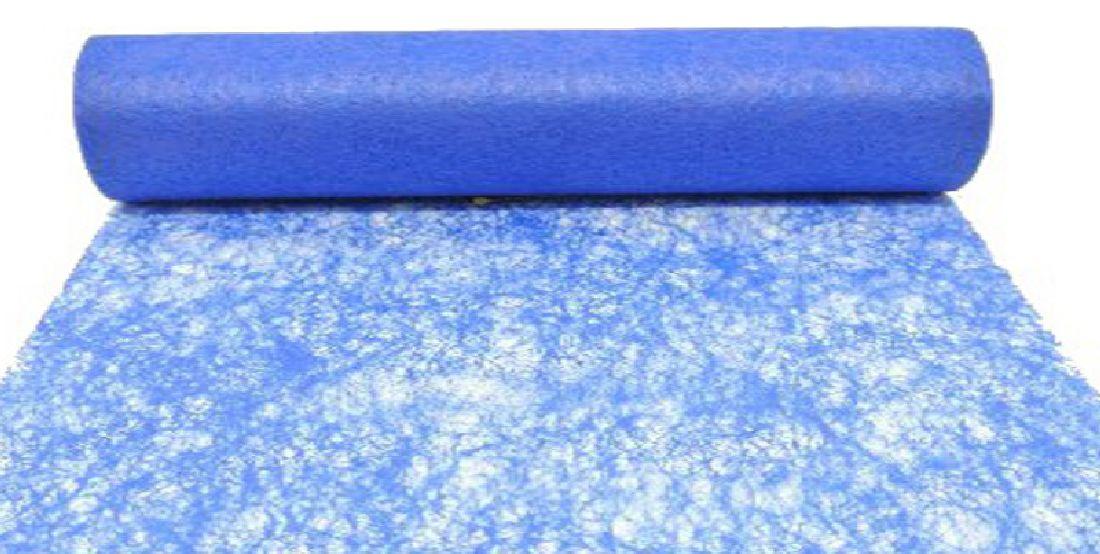 Vlies, Tischband, Dekovlies BLAU 121 43002-70cm Rolle=25m