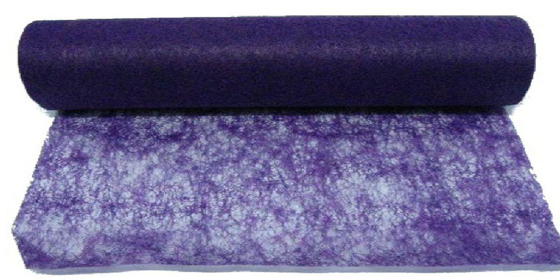 Vlies, Tischband, Dekovlies LILA 133 43002-70cm Rolle=25m