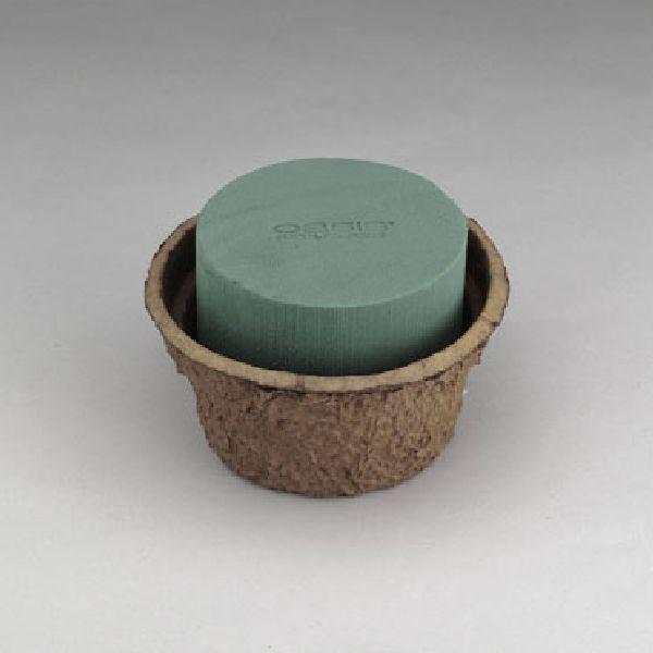 Oasis® Biolit Schale mit Steckmasse 11-07351 Ø 26 cm x H 11 cm