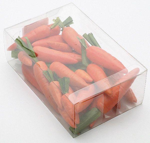 Möhren-Mix ORANGE-GRÜN  10652 5/7/9cm 3-fach sort. Box=48St.