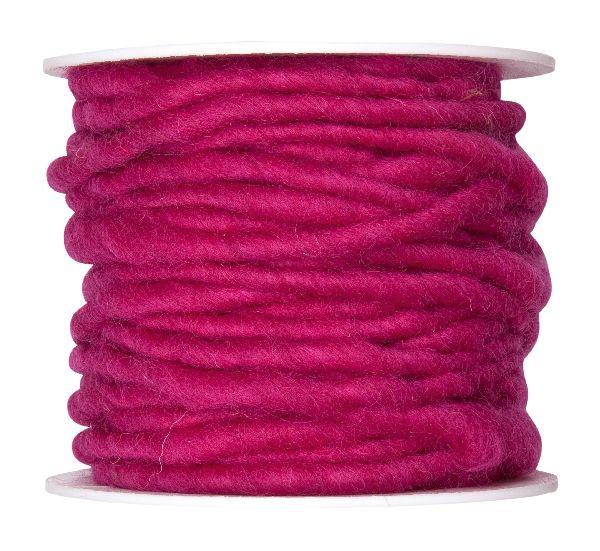 Wollschnur mit Jute PINK 60 5mm 10m 61710