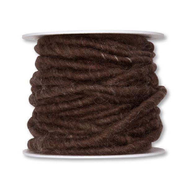 Wollschnur mit Jute BRAUN 96 5mm 10m 61710